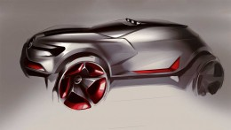Nissan Concept Design Sketch by Peter Konovalov