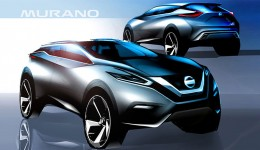 Nissan Murano Design Sketches