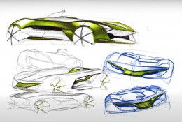 Seat Odei Concept Design Sketches
