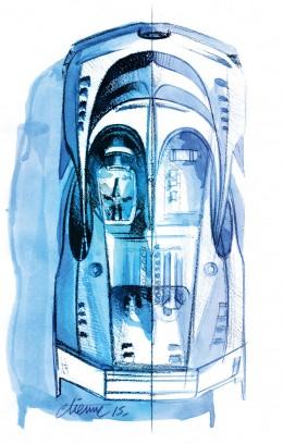 Bugatti Gran Turismo Sketch