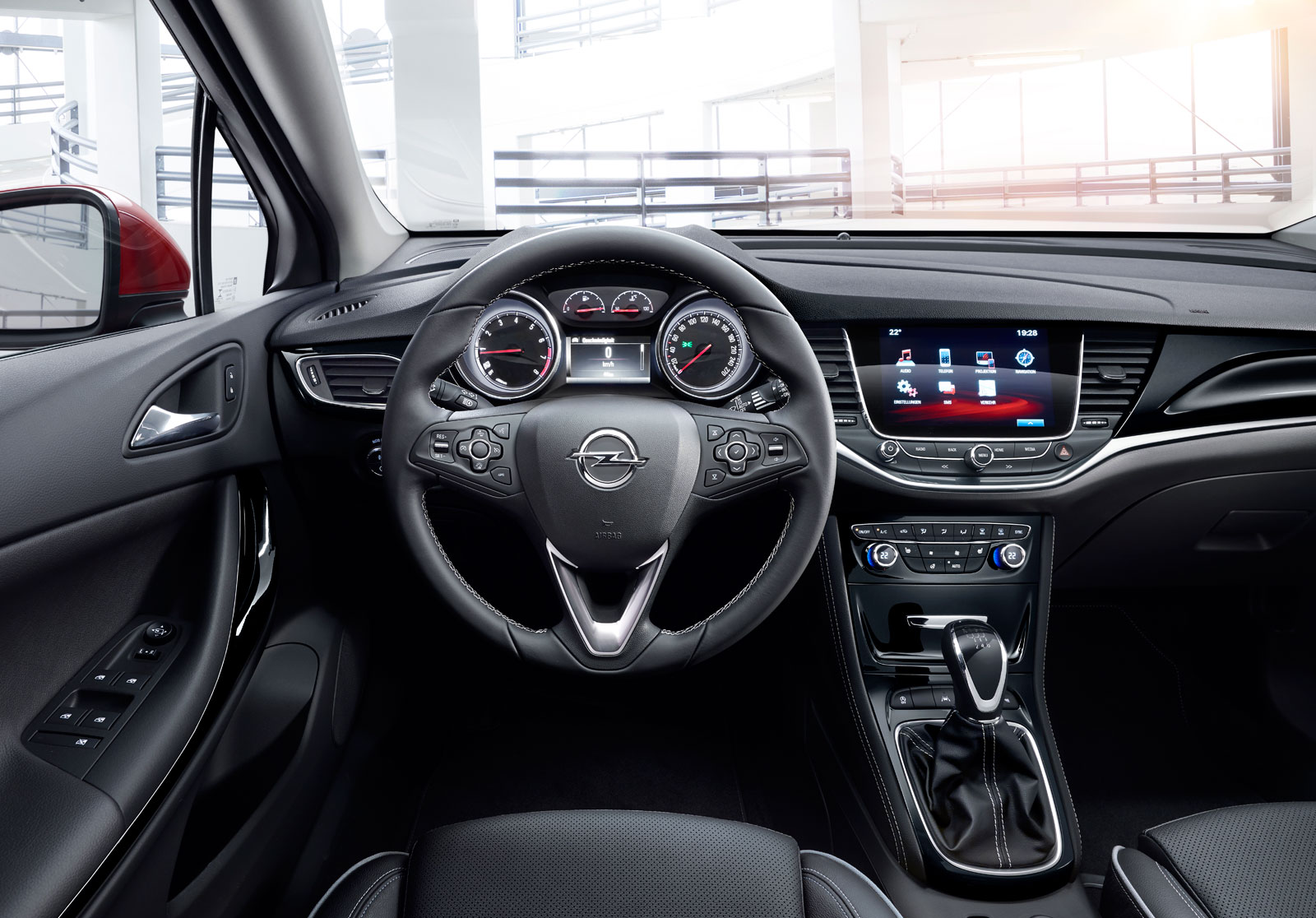 2016 Opel Astra - Interior - Car Body Design
