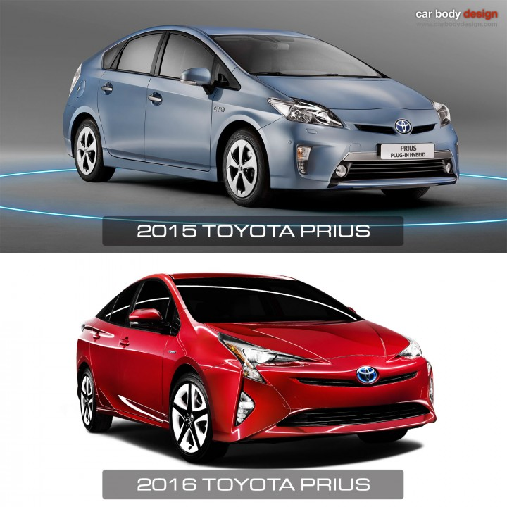Toyota Prius 4th Generation: New Toyota Prius Gets Bolder (and Weirder) Look