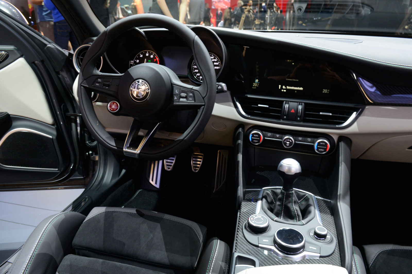 Captivating Alfa Romeo Giulia Interior