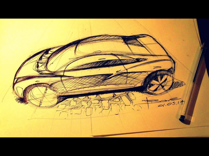 New Book: 'Car Design Sketching Tips' by Luciano Bove