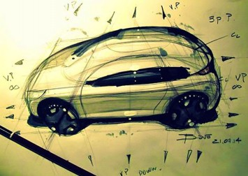 Car sketch ellipse tutorial by Luciano bove
