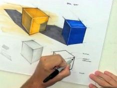 Drawing-cubes-in-perspective-video-tutorial