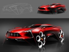 Ferrari-SUV-Design-Sketch-Workflow