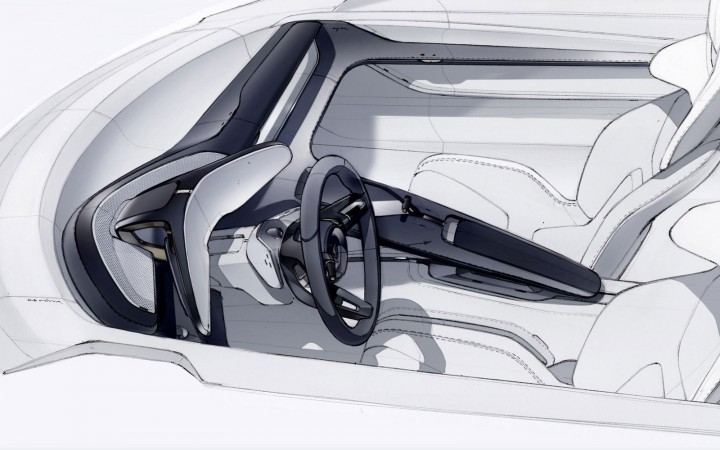 Porsche mission e is a sleek futuristic ev car body design - Car interior design ...