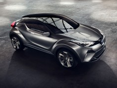 Toyota C-HR Concept gets closer to production