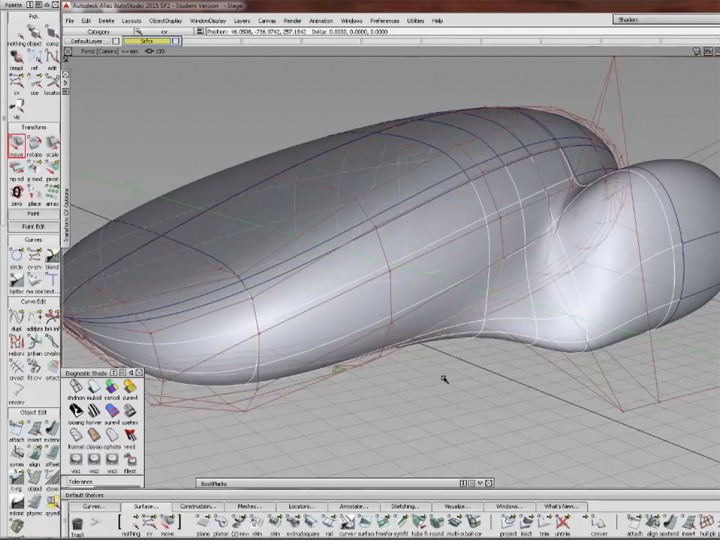 Autodesk Alias Autostudio Organic Modeling Part 1 Car