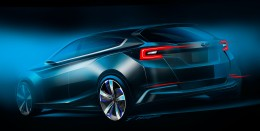 Subaru Impreza 5-Door Concept Design Sketch