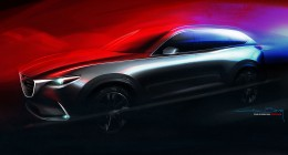 2015 Mazda CX-9 Design Sketch