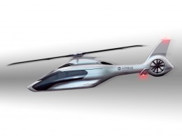 Airbus Helicopters H160 Design Sketch by Peugeot Design Lab