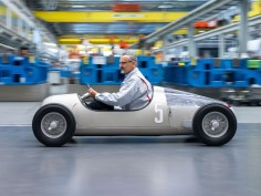 Audi 3D prints the 1936 Silver Arrow