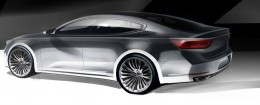 Kia Cadenza Design Sketch