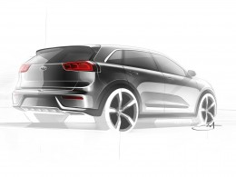Kia Niro Design Sketch