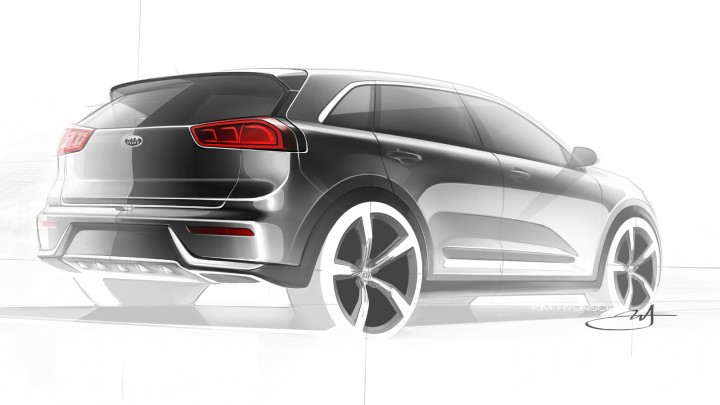 Kia Niro hybrid SUV preview
