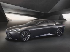 Lexus LF-FC Concept previews next-gen flagship sedan