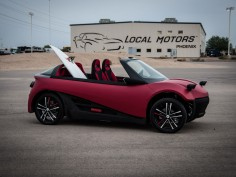 Local Motors Unveils LM3D Swim 3D-printed concept car
