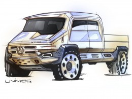 Mercedes-Benz Unimog Concept Design Sketch by Michael DiTullo1