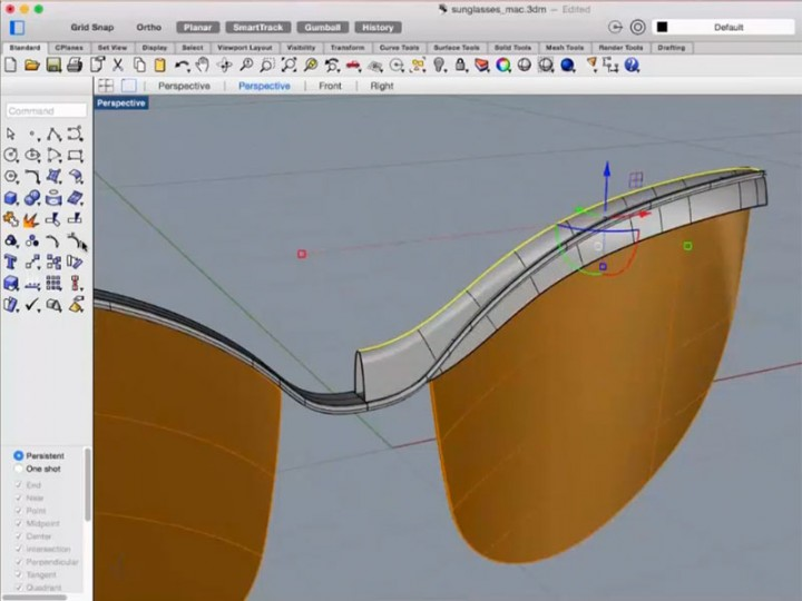 Modeling Sunglasses In Rhino For Mac Car Body Design