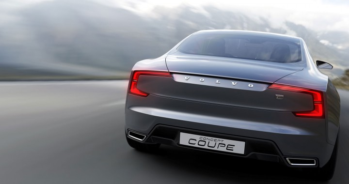 2013 Volvo Concept Coupe rear end