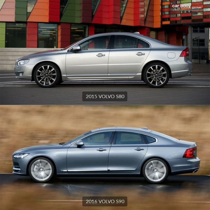 volvo reveals the s90 sedan car body design. Black Bedroom Furniture Sets. Home Design Ideas
