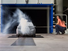 GM opens wind tunnel for reduced scale clay models