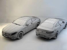 Mercedes-Benz-S-Coupe-3D-model-wireframe