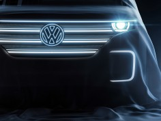 Volkswagen teases electric concept ahead of CES 2016