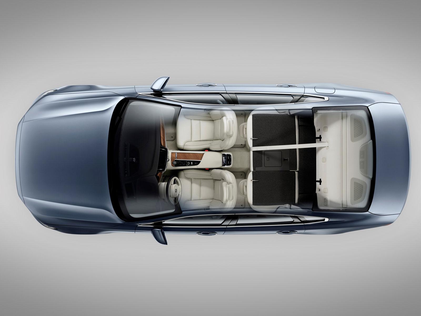 volvo s90 interior top view car body design. Black Bedroom Furniture Sets. Home Design Ideas