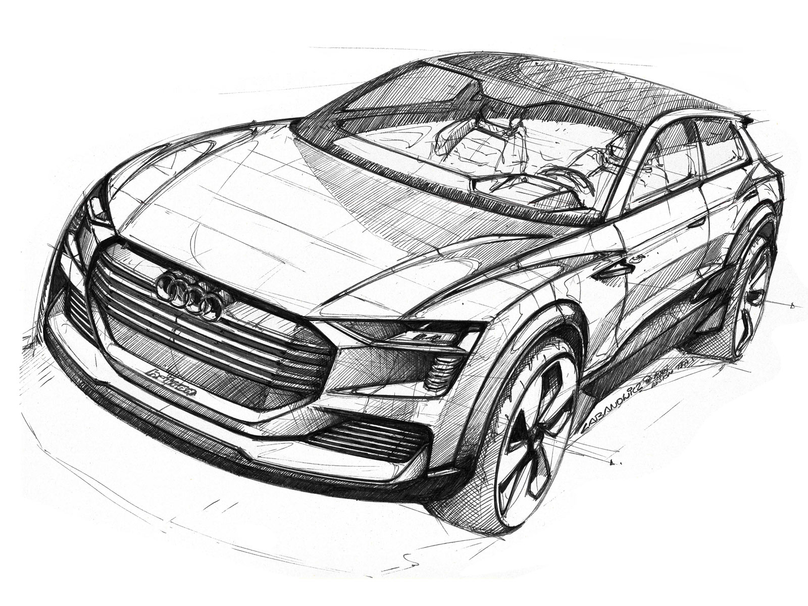 Transportation Exterior Sketches On Pinterest Car