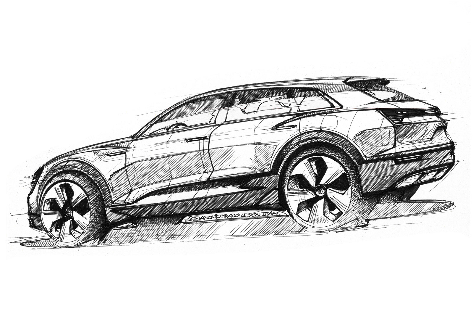 Transportation exterior sketches on pinterest car for Exterior car design