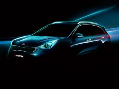 Kia Reveals previews Niro hybrid SUV