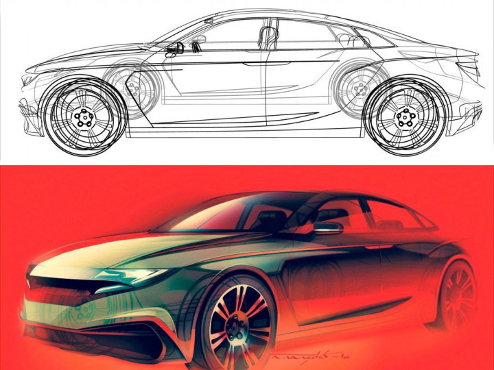 Sketchover #9 – Car render using uMake 3D sketching app