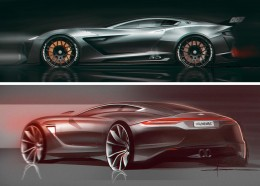Car Design Sketches by Cl�ment Morice