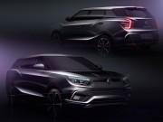 SsangYong Tivoli XLV and SIV-2 Concept: preview design sketches