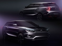 SsangYong Tivoli XLV and SIV-2 Concept: preview design sketches