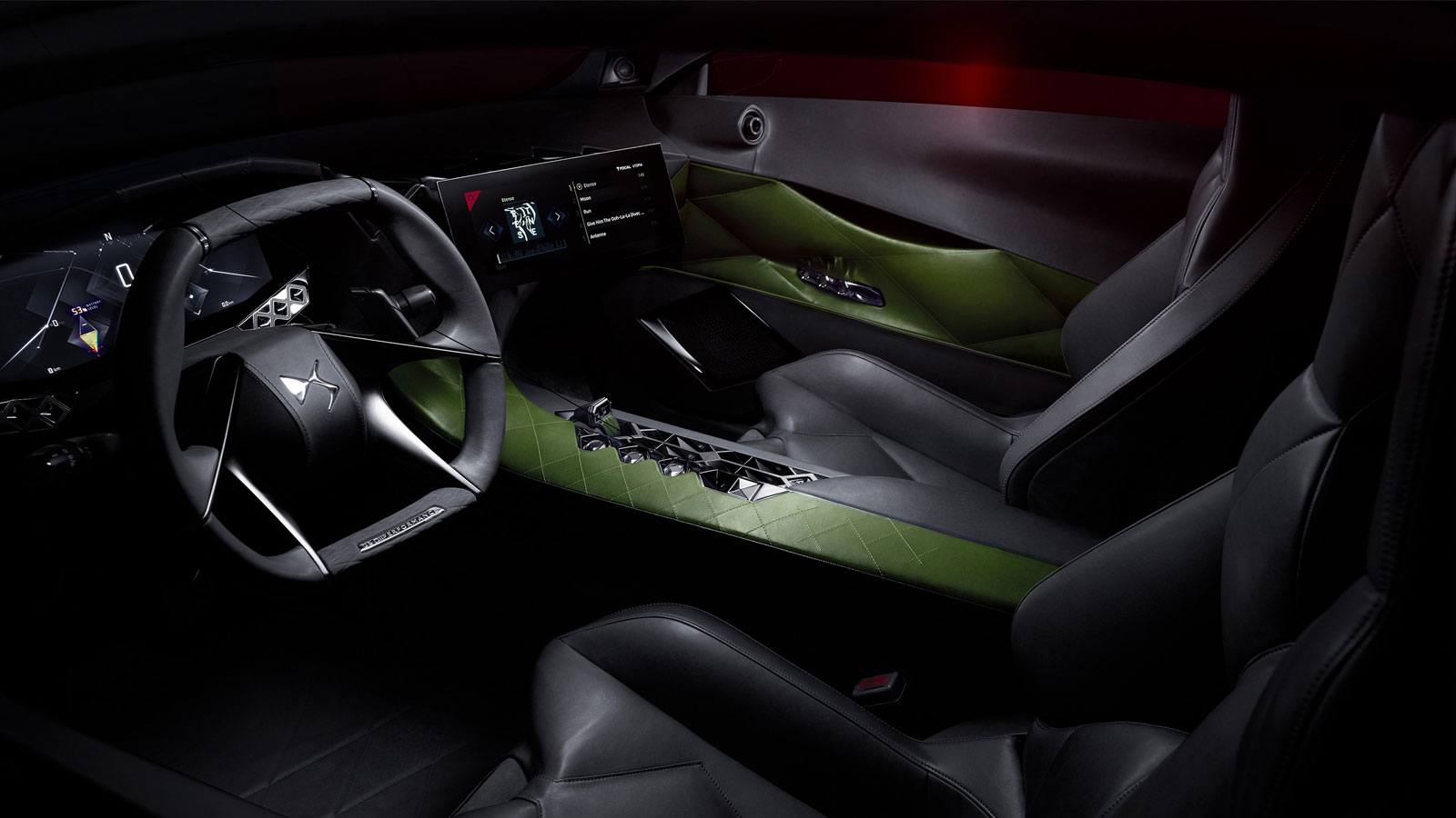 Ds e tense concept interior car body design for Interieur concepts