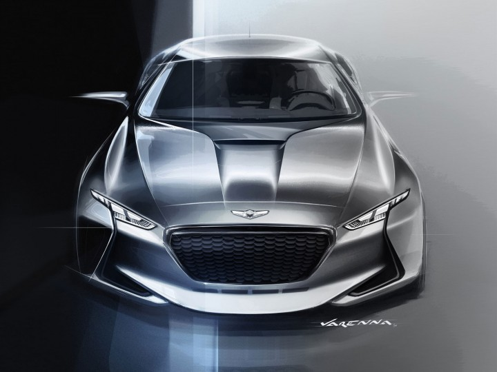 Genesis New York Concept The Design Car Body Design