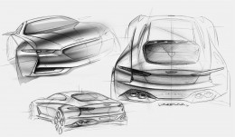 Genesis New York Concept Design Sketches