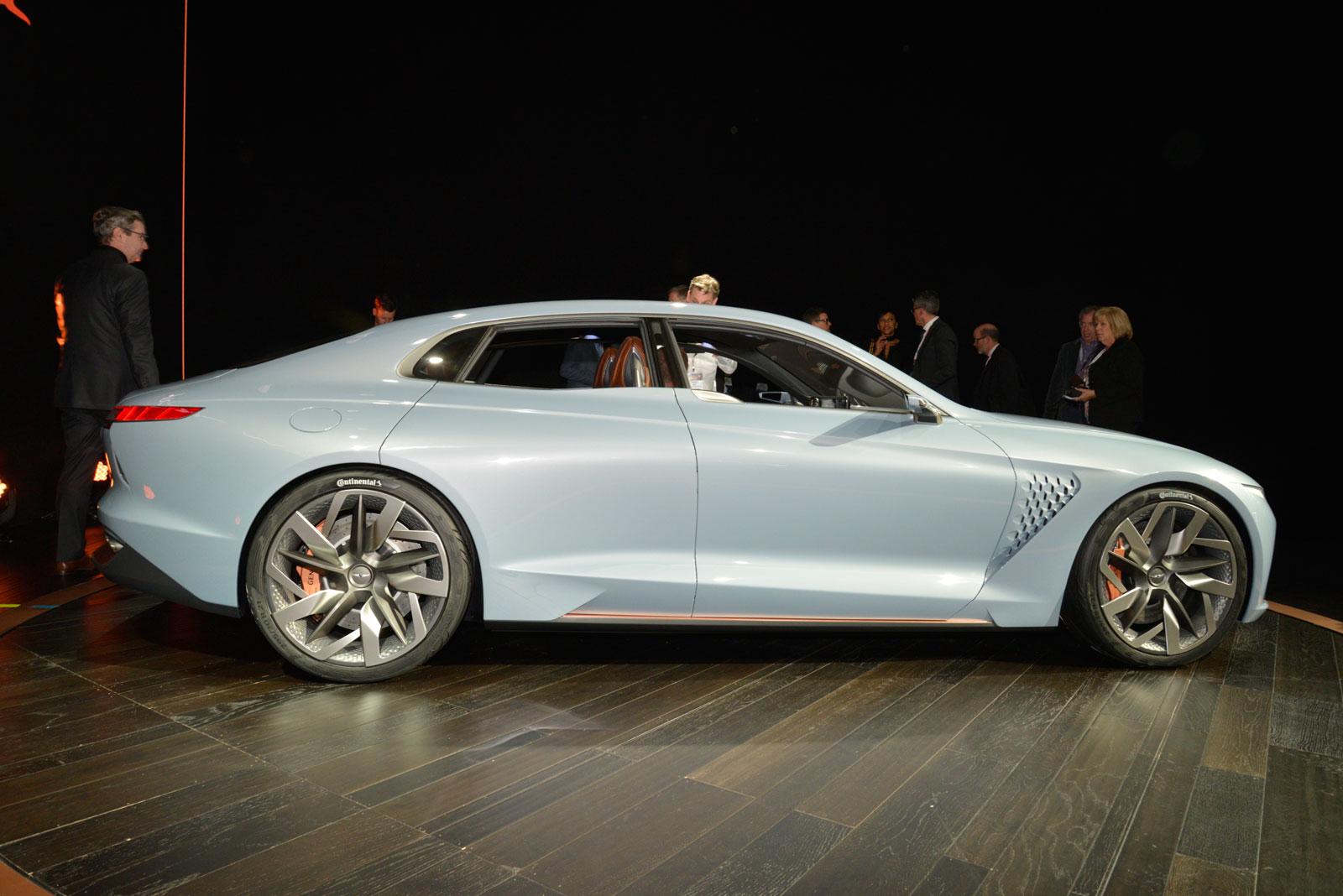 Genesis New York Concept At Ny Auto Show 2016 Car Body