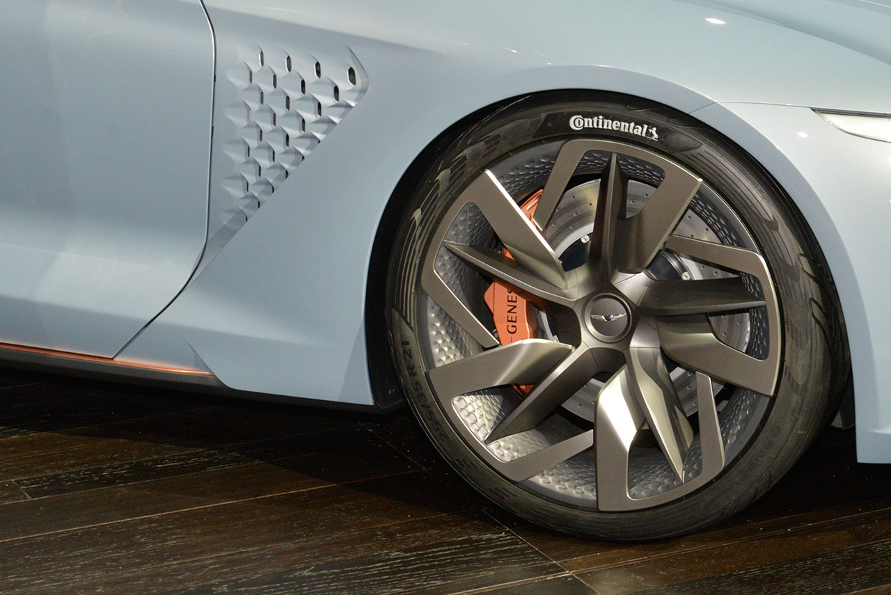 Genesis New York Concept at NY Auto Show 2016 Wheel and ...