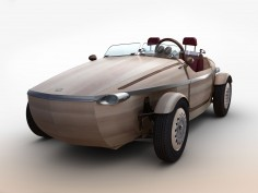 Toyota to present a wooden concept car at Milan Design Week
