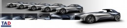 Bugatti Esders Concept - Design Sketch Renders - Possible setups