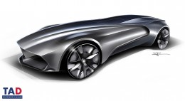 Bugatti Esders Concept - Preliminary Design Sketch