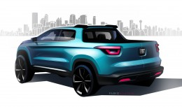 Fiat Toro Design Sketch Render