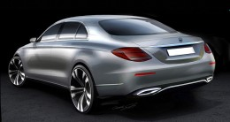 Mercedes-Benz E Class Design Sketch