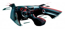 Fiat Toro - Interior Design Sketch Render by Bruno Said