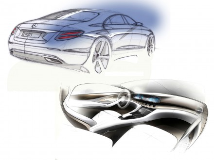 Mercedes-Benz E-Class: Design Gallery